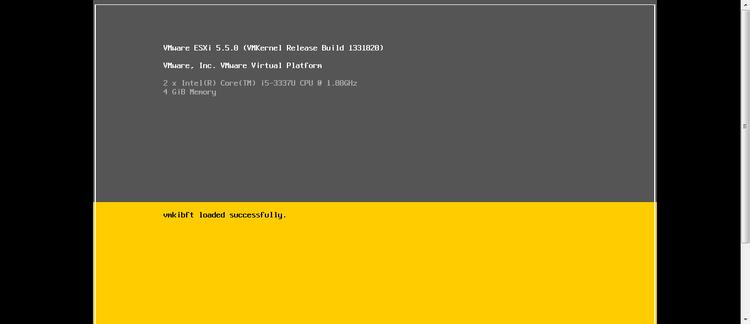 VMware ESXI 5.5 安装过程 - 麦子 - 萨米的博客